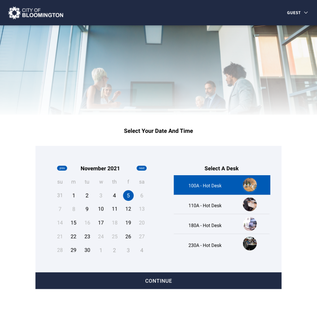 Integrated white label booking site